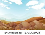 blue,brown,cartoon,clouds,daytime,drawing,ecosystem,elongated,environment,gift,graphic,grass,green,ground,hard