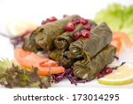 Stuffed Vine Leaves With ...