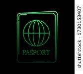 passport nolan icon. simple...