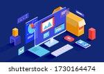 isometric vector illustration...   Shutterstock .eps vector #1730164474