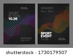poster layout design with... | Shutterstock .eps vector #1730179507