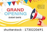Grand Opening Banner Template....