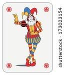 Joker In Colorful Costume...