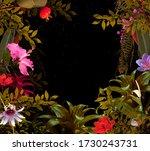 Deep Secret Forest Background....