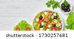 Greek Salad With Cucumeber ...