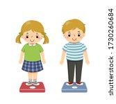 vector illustration cute... | Shutterstock .eps vector #1730260684