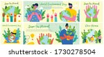 big set of world environment...   Shutterstock .eps vector #1730278504