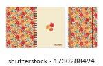 cover design for notebooks or...   Shutterstock .eps vector #1730288494