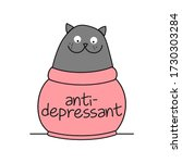 Funny Cat With Antidepressant...