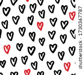 seamless pattern with hand... | Shutterstock .eps vector #1730367787