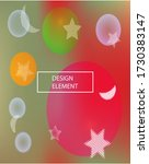 modern blurry smooth background.... | Shutterstock .eps vector #1730383147