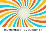 sunburst circular background... | Shutterstock .eps vector #1730408467