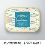 Canned Fish Label Template....