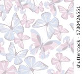 delicate seamless pattern... | Shutterstock .eps vector #1730426551