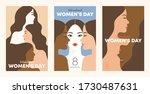 international women's day.... | Shutterstock .eps vector #1730487631