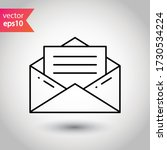 envelope vector icon. mail flat ...