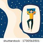 sweet dreams  good health... | Shutterstock .eps vector #1730563501