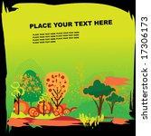 autumne grunge background. to... | Shutterstock .eps vector #17306173