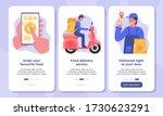 online food delivery service...   Shutterstock .eps vector #1730623291