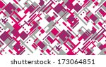 texture with diagonal pink and... | Shutterstock . vector #173064851