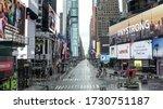 New York   Apr 25  2020  Empty...