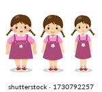 vector illustration cute... | Shutterstock .eps vector #1730792257