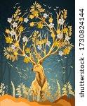 3d Illustration Of Flowers In...