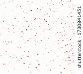 confetti romance. tiny heart... | Shutterstock .eps vector #1730841451