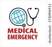 medical emergency icon  public... | Shutterstock .eps vector #1730906911