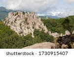 Picturesque Mountain In The...