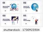 meteorology landing page...   Shutterstock .eps vector #1730923504