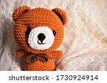 Crochet bear vector illustrator ...