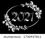 2021 happy new year greeting...   Shutterstock .eps vector #1730937811