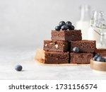 Vegan Chocolate Brownie With...
