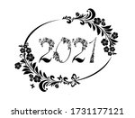 2021 happy new year greeting...   Shutterstock .eps vector #1731177121