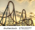 Roller Coaster\'s Loops At...