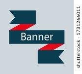 retro ribbon banner vector... | Shutterstock .eps vector #1731266011