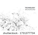 geometric graphic background... | Shutterstock .eps vector #1731377734