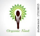 organic food concept stock... | Shutterstock .eps vector #173138015