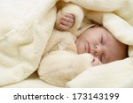 newborn baby | Shutterstock . vector #173143199
