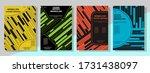 geometric cover design...   Shutterstock .eps vector #1731438097