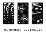 laser cutting modern abstract... | Shutterstock .eps vector #1731451714