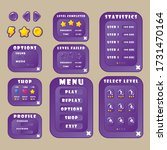buttons  icons  and menu...