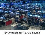 atlanta   may 04  cnn center in ... | Shutterstock . vector #173155265