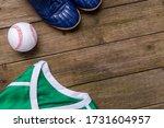 Baseball Ball  Shirts And Shoes ...