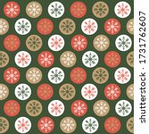 seamless snowflakes with look... | Shutterstock .eps vector #1731762607
