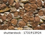 kizyak. cow cakes are dried for ... | Shutterstock . vector #1731913924