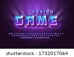 mobile game logo bright and...