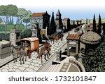 Ancient Rome   Via Tiburtina...