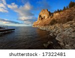 Cave Rock  Lake Tahoe  Nevada